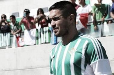 Vargas llegó al Real Betis en agosto (FOTO: elcomercio.pe)