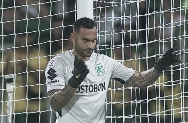 Vargas sigue sumando minutos en el arco verde. | Foto: Canal RCN