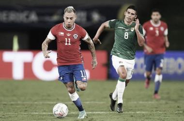 Eduardo Vargas, la figura del partido en la victoria de Chile ante Bolivia