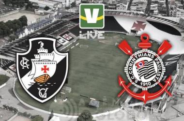 Vasco - Corinthians, assim acompanhamos