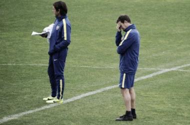 Preocupación en el Vasco, que tendrá que rearmar casi todo el mediocampo para enfrentar a Argentinos (Foto: Web).