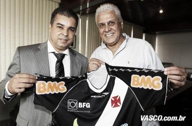 Vasco anuncia BMG como novo patrocinador