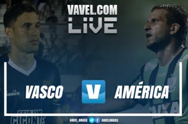 Resultado Vasco 4 x 1 América-MG pelo Campeonato Brasileiro