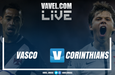 Resultado Vasco 1 x 4 Corinthians pelo Campeonato Brasileiro 2018