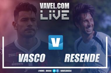 Resultados e gols de Vasco x Resende na semifinal da Taça Guanabara (3-0)