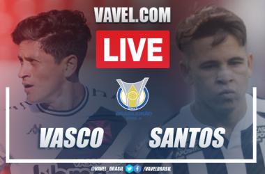 Gol e melhores momentos para Vasco 1x0 Santos pelo Campeonato Brasileiro