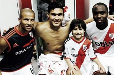 Sánchez, Gutiérrez y Balanta (Foto: River Millonarios)
