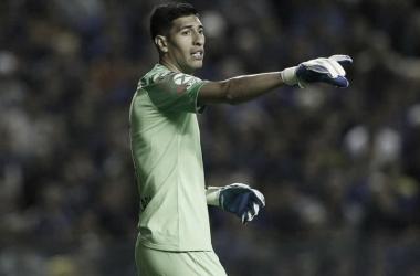 Sabandija fue la figura de Boca-Vélez. Gracias a él y a la pericia del Xeneize en los penales, Boca pasó a semis. Foto: ESPN.