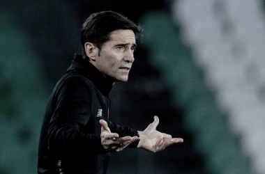 Marcelino ante el Real Betis (Athletic Club)
