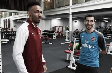 """Aubameyang festeja ida ao Arsenal e cita Henry: """"Trabalhar muito para ser como ele"""""""