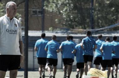Foto de un entrenamiento de Boca. Foto: Prensa CABJ.