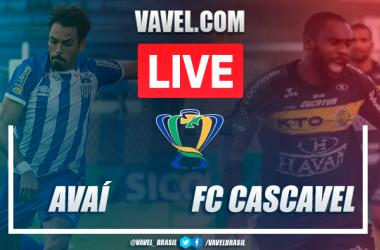 Gols e melhores momentos deAvaí 2x0 FC Cascavel pela Copa do Brasil