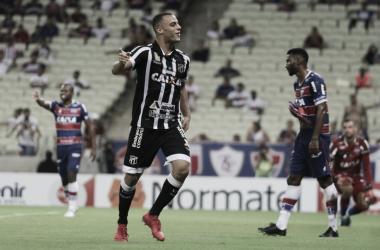 Mesmo assim, o jovem Arthur levou o prêmio de melhor jogador do campeonato | Foto: Lucas Moraes/CearáSC