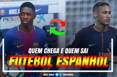 Quem chega e quem sai: todas as negociações do futebol espanhol