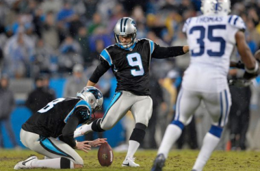 Graham Gano Hits 52-Yard Field Goal To Give Carolina Panthers Victory Over Indianapolis Colts In Overtime