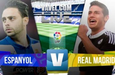 Resultado Espanyol x Real Madrid no Campeonato Espanhol 2015/16 (0-6)