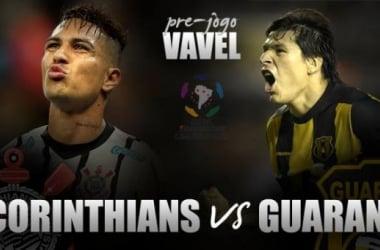 Corinthians enfrenta Guaraní-PAR buscando virada heroica e inédita no ano