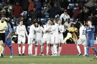 Cristiano Ronaldo faz dois e Real Madrid supera Getafe no retorno de Marcelo