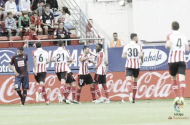 Athletic Bilbao vence Eibar fora de casa com gol solitário de Aduriz
