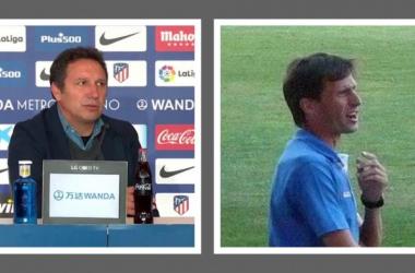 Eusebio (izquierda) y Ziganda (derecha)   Imagen: VAVEL - Javier Luengo