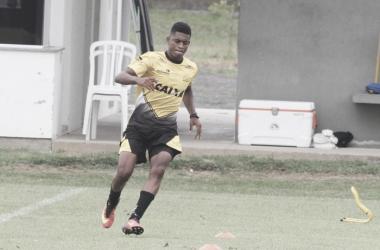 Atleta de 20 anos fará a primeira partida na Série B em 2017 | Foto: Fernando Ribeiro/Criciúma E.C./Arquivo