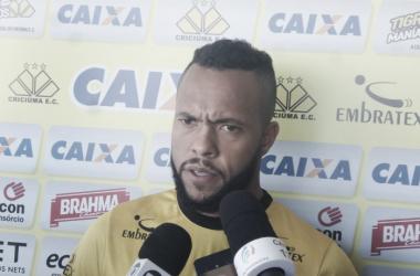 Atleta entende que os resultados virão de forma natural ao longo da Série B   Foto: Fernando Ribeiro/Criciúma E.C.