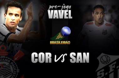 Pré-jogo: Corinthians recebe Santos em busca de quebrar tabu de não vencer clássicos no Brasileirão