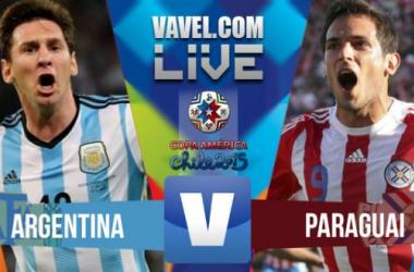Resultado Argentina - Paraguay en Copa América 2015 (6-1)