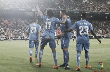 Rémy faz dois, Getafe surpreende Valencia fora de casa e reanima sonho por vaga na UEL