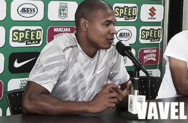 "Alexis Henríquez: ""Mejoramos con respecto a partidos anteriores""   Foto: VAVEL Colombia"