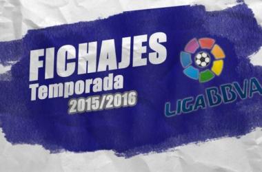 Mercado de fichajes de la Liga BBVA 2015/16