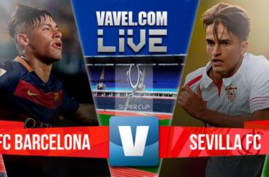 Resultado Barcelona x Sevilla pela Supercopa da Uefa 2015 (5-4)