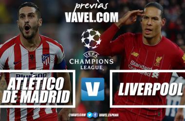 Champions League - l'Atletico ospita il Liverpool nella bolgia del Wanda Metropolitano