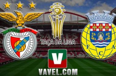 Resultado Benfica - Arouca en la Taça da Liga 2015 (4-0)