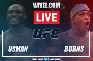 Resultados e Melhores momentos:Usman x 'Durinho' Burns no UFC 258