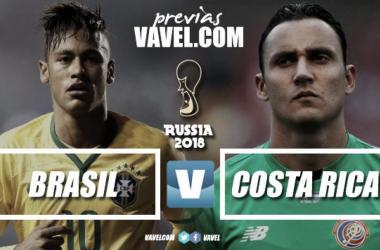 Russia 2018 - Il Brasile va in cerca dei tre punti. La Costa Rica prova l'impresa