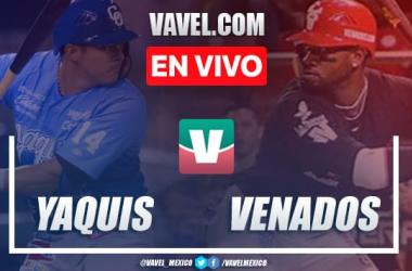 Resumen y carreras: Venados Mazatlán 4-5 Yaquis de Obregón Juego 1 Semifinal LMP