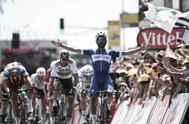 Marcel Kittel, Peter Sagan y Fernando Gaviria Etapa 1 Tour de Francia / Imágenes letour.fr