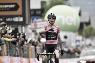 Simon Yates Victoria etapa 15 /Foto:Giro de Italia