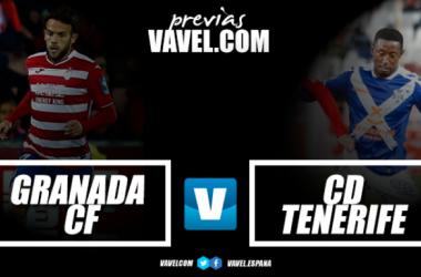Previa Granada CF - CD Tenerife: partido clave para alejarse de la zona baja