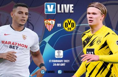 As it happened: Sevilla 2-3 Borussia Dortmund: Haaland double gives BVB first leg advantage