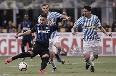 Lautaro Martínez, el nuevo delantero titular del Inter / Foto: Twitter oficial del Inter de Milán
