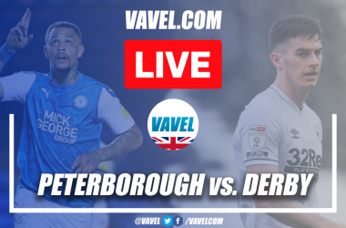 As it happened: Peterborough United 2-1 Derby County in the Championship