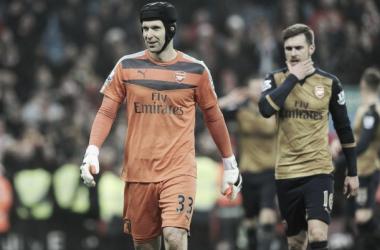 Cech está a um jogo sem tomar gols de ser o goleiro com mais clean sheets da Premier League (Foto: Divulgação/Arsenal)