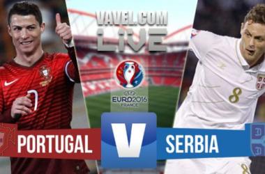 Resultado Portugal - Serbia en la Clasificación Eurocopa 2016 (2-1)
