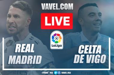 Goals and Highlights: Real Madrid 2-2 Celta de Vigo in 2020 La Liga
