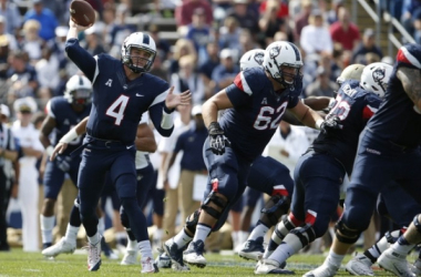The American Athletic Conference has continued to rise above the mid-major muck. Even the much-maligned UConn Huskies football program made a bowl game last season. (Photo Credit USA Today Sports)