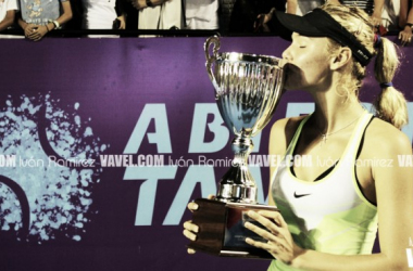 Sofya Zhuk es la campeona en singles del Abierto Tampico 2016