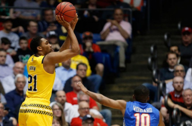 Zak Irvin came up clutch for Michigan to seal the victory. (USATSI)