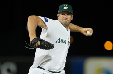 Former Mariner Ryan Rowland-Smith struck out three over three scoreless innings. (Steve Christo)